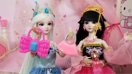 叶罗丽故事 冰公主为什么比吃了蜜还开心,原来是有两个新包包