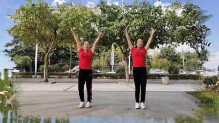 阳春三月乐逍遥广场舞《感谢好生活》欢快简单易学广场舞