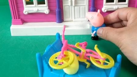乔治在家闯祸了,猪妈妈把乔治赶走了,乔治去找猪爷爷帮忙了!