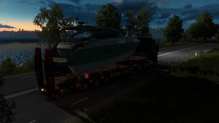 欧洲卡车模拟2|Euro Truck Simulator 2#9运输拖拉机至斯德哥尔摩