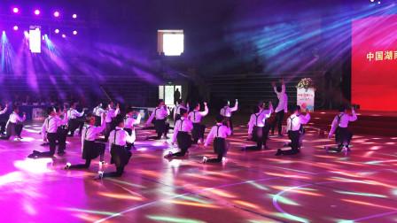 大型团体开场舞蹈《我是一只小小鸟》,大气优美!中国湖南2020中顺洁柔杯国际标准舞公开赛开幕式现场