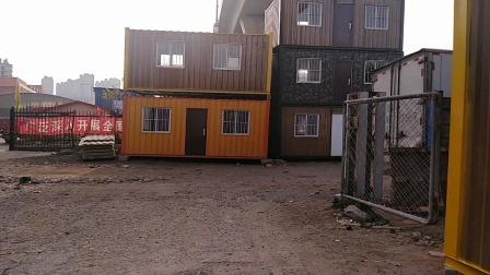 本地集装箱轻体房厂家价格,以3*6平方米为准大概是5000起不等,价格是由材料决定的!