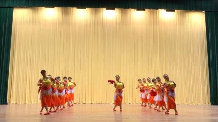 波老师编排指导群文群舞《健康快乐扭起来》*排练版(松江叶榭镇文化中心舞蹈队13人参演)