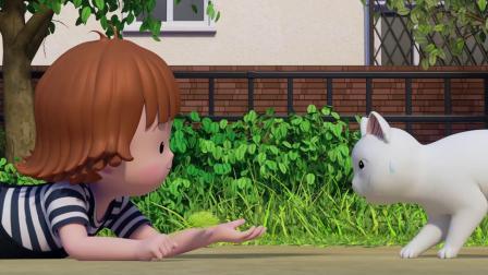 甜甜私房猫:要听话哦,小猫咪!