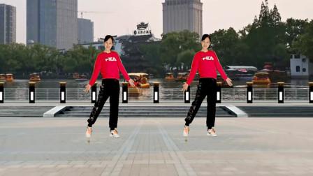 广场舞《美丽的蝴蝶》简单的舞步,轻松学会