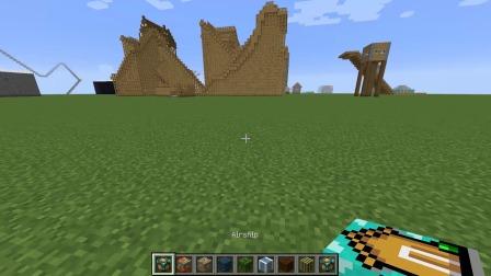 魔哒我的世界国际服38:建造超豪华小屋只需要1秒搞定