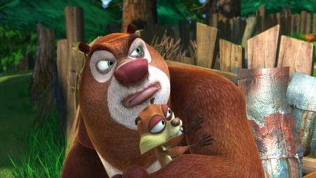 熊出没:强哥在家玩起了大炮?这是什么阴谋啊,动物们吓坏了