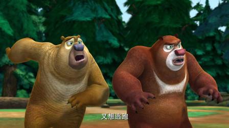 熊出没:熊二头被撞了之后,就脱胎换骨了,完全像变了一个人