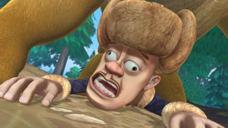 熊出没:强哥仅有的口粮,被小动物们疯抢,强哥彻底崩溃大哭