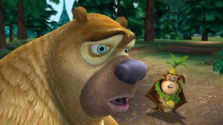 熊出没:大家想演戏想疯了,敢偷强哥的锯子当道具,胆真大