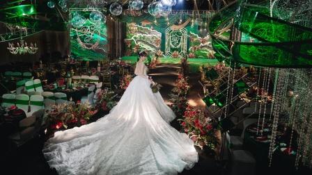 逐光婚礼摄影室内