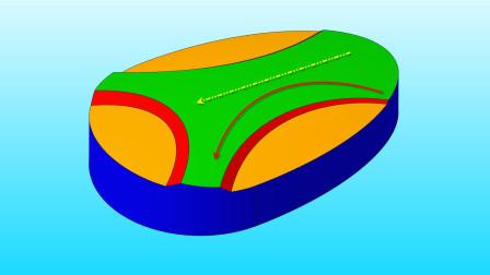 Creo曲面上渐变浮雕效果的高质量快速实现方法!