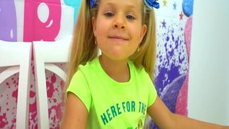 美国时尚儿童:小萝莉DIY各种创意玩具,开心极了
