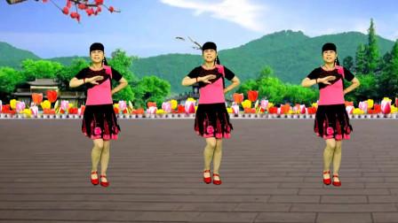 广场舞《相思蝶》歌曲婉转动听,舞蹈简单易学