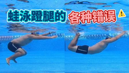 【梦觉教游泳】蛙泳腿的常见错误动作