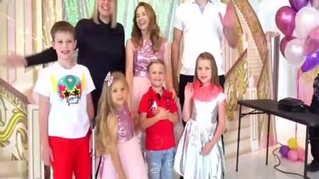 美国时尚儿童:小萝莉和她的小伙伴们,太开心了