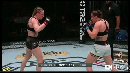 【UFC255】舍普琴科强势碾压击败对手,成功卫冕!
