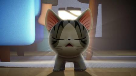 甜甜私房猫:小奇,你好棒哦!
