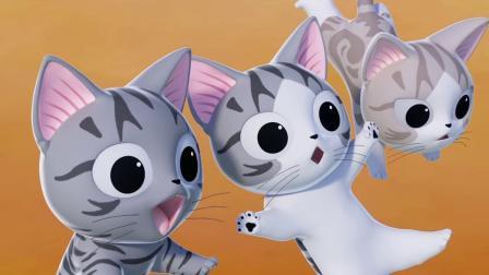 甜甜私房猫:哇,好好玩!