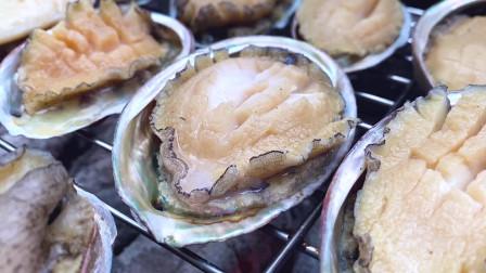 鲍鱼拿来烤好吃吗?配上四川人爱吃的折耳根,一定是一道黑暗料理吗