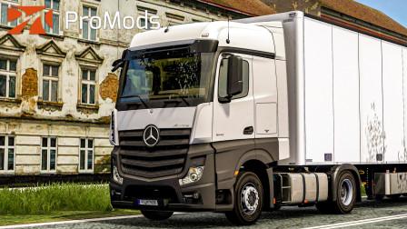 欧洲卡车模拟2 #375:平稳的驶入波兰 将宠物食品送至利多超市 | Euro Truck Simulator 2