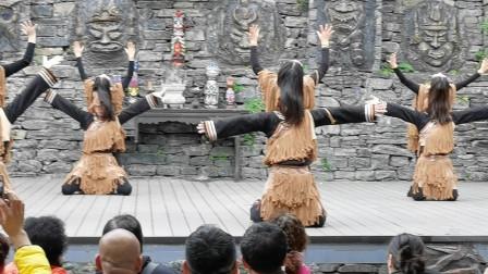 三峡人家土家族古老的巫术舞蹈,从5分钟开始,有点恐怖