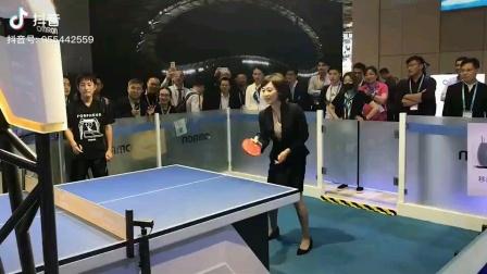 劳春燕央视主持人第二集,还有机器人打乒乓球