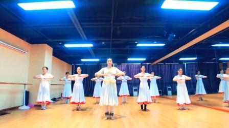 『舞蹈展示』印度卡塔克古典舞行礼《Namaskar》集体版【杭州太拉国际东方舞&印度舞培训漫漫老师】