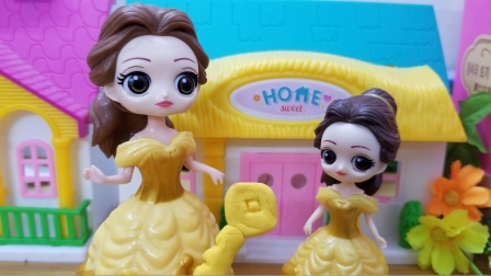 贝儿把家里的钥匙弄丢了,下次可一定要好好保管钥匙啦!
