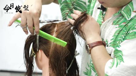 锁骨发你还不会吗?发型师必修课。