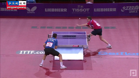 20130517巴黎世乒赛 男单第1轮 斯托亚诺夫vs马滕特 乒乓球比赛视频