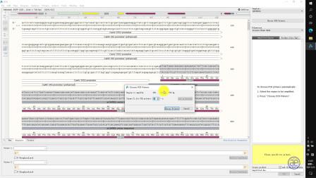 【四方居士】SG#16质粒图谱软件Snapgene中的PCR操作
