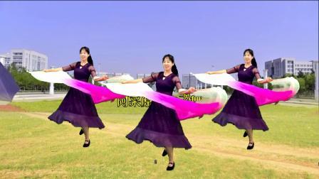 长扇舞《红尘蝶恋》听歌又看舞,给您美的享受