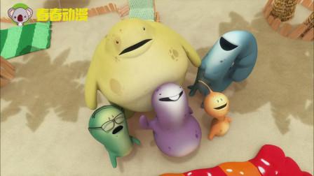 爆笑怪物:往屁股里打气,竟然能变成气球