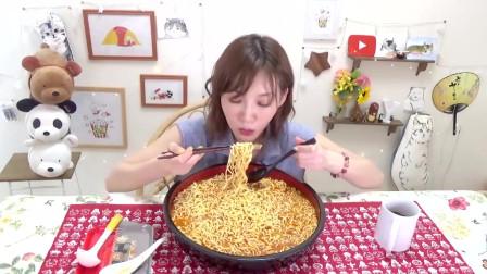 【木下大胃王】[野郎拉面]超辣大爆发满满的!吃了5.1公斤