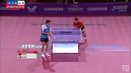 20130517巴黎世乒赛 男单第1轮 王皓vs马科斯马德里 乒乓球比赛视频