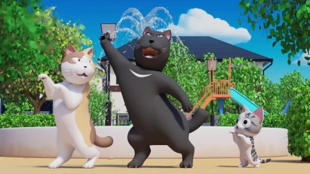 《甜甜私房猫》大黑跳舞第一名哦
