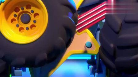 宝宝巴士少儿动画片:摇滚派对,热情动感的怪兽车摇滚派对开始了