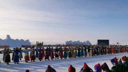 内蒙古呼伦贝尔冬季那达慕,冰雪旅游民俗文化盛宴!