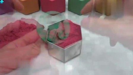 宝宝巴士少儿动画:六边形蛋糕,你见过六边形拼接成的蛋糕么