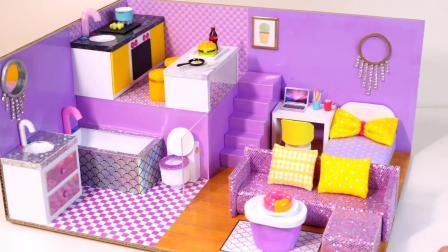 DIY房间设计,有利于开发孩子们的智力