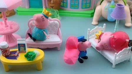 乔治想要一个大气球,能帮到他的只有猪爸爸了