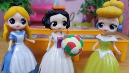白雪公主故事 白雪的足球脏了,到底是谁弄的呢?