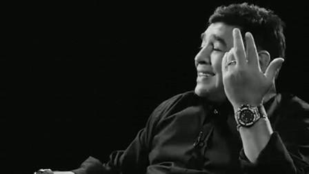 """马拉多纳一生荣誉无数,但""""上帝之手""""是他最传奇的故事。再见,球王!"""