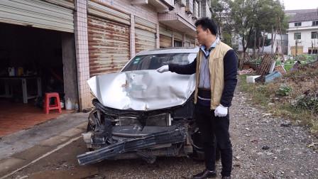 视频为什么会断更那么久,汽车损毁为什么这么严重呢?