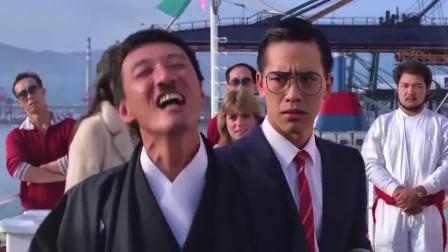 电影:石天为了破案,假扮日本人,他这一套日语听得我头皮发麻