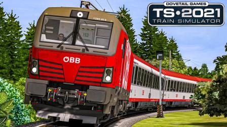 TS2021 卡拉万克斯铁路 #2:穿过卡拉万克斯隧道 驶入斯洛文尼亚 | Train Simulator 2021
