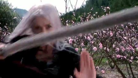 一块布,到了李连杰的手里,就能当鞭子用