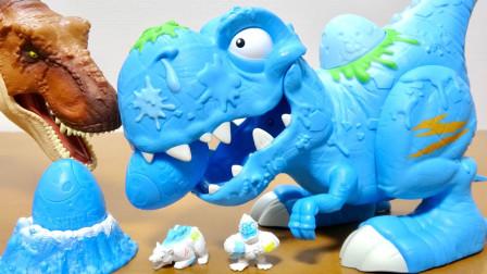 恐龙玩具故事:好期待!霸王龙带来了什么好玩的玩具呢?