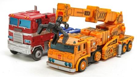 变形金刚 擎天柱 车辆机器人 卡车玩具